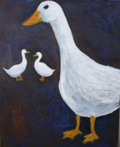 Ducks, by Beth Shepherd, 2015