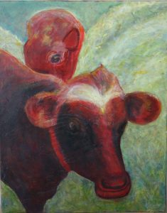 Mother and Calf, by Beth Shepherd, 2015